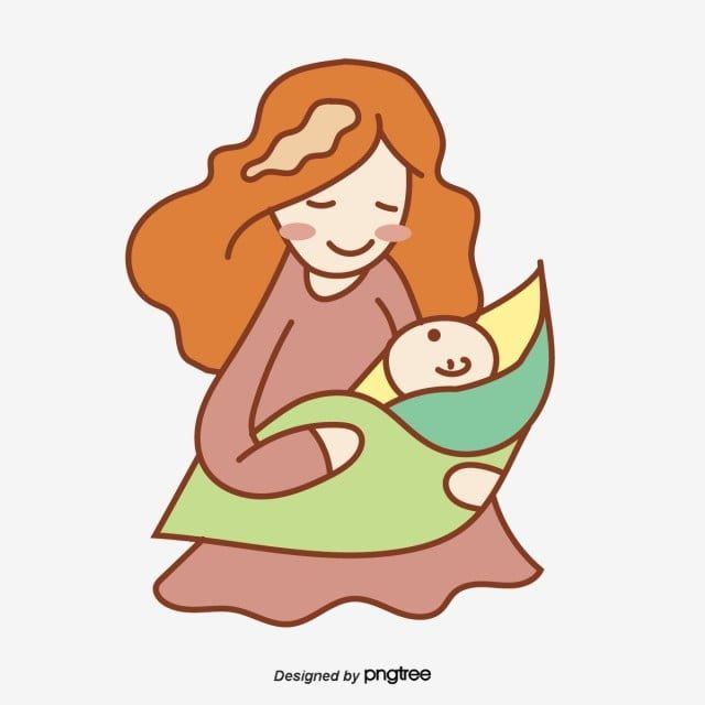 Gambar Kartun Menyusui Bayinya Vektor Clipart Bayi Vektor Kartun Vektor Bayi Png Dan Vektor Untuk Muat Turun Percuma Kartun Bayi Ilustrasi