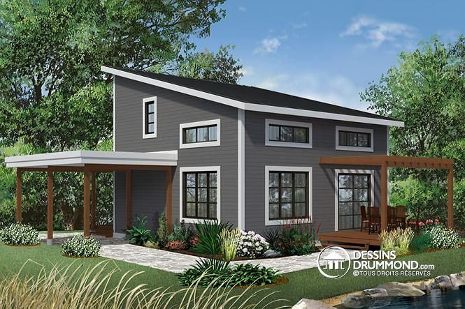 Tiny Home Designs: Plan De Maison Unifamiliale NOYO No. 3968 In 2019