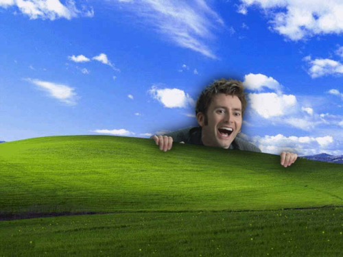 David Tennant In Places He Shouldn't Be! (With images