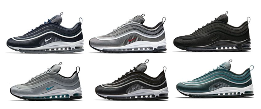 classic fit e8889 bc743 Nike Air Max 97 921826-001 921826-101 312834-004 312834-200 917646-600  917704-001 917704-002 917704-003 917704-100 917704-600 918356-002 918356-300