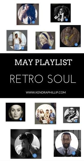 Follow Kendra Phillip on Spotify to listen to this retro soul playlist! Hear what we are listening to right now and groove like it's 1968!
