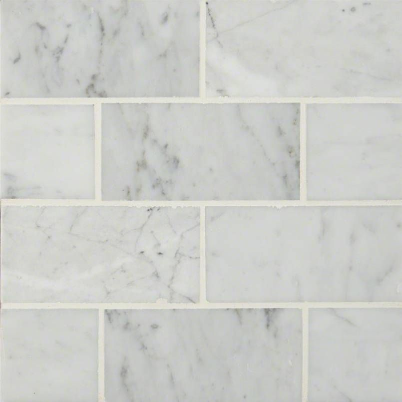Carrara White Subway Tile 3x6 Marble Subway Tiles Honed Marble Floor Polish Marble Floor