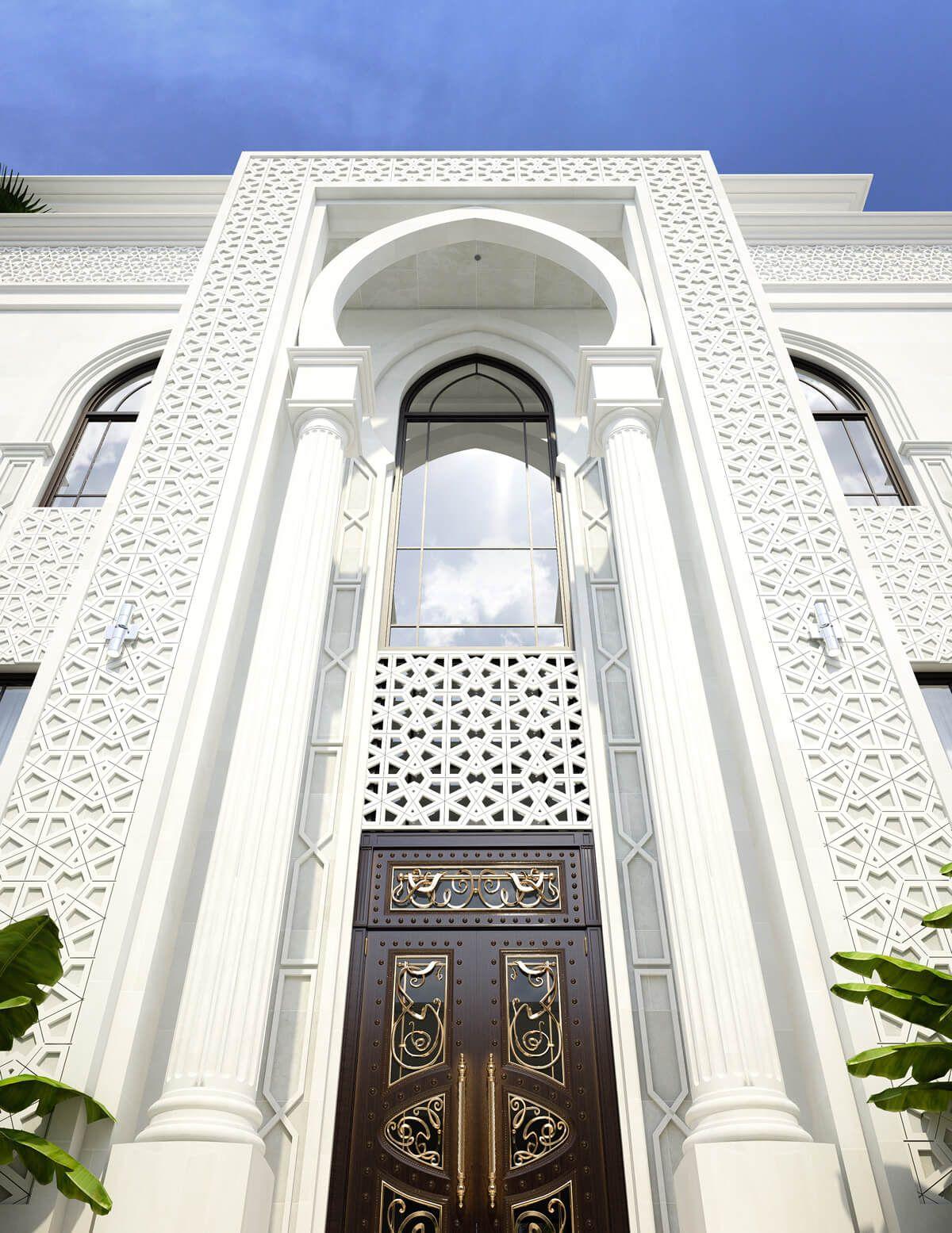 Cas Is Under Construction Exterior Design Mosque Architecture Morrocan Architecture