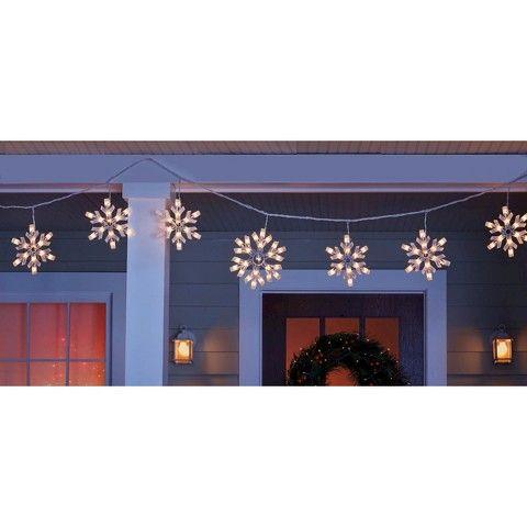 Snowflake Icicle Lights 9ct Design Ideas