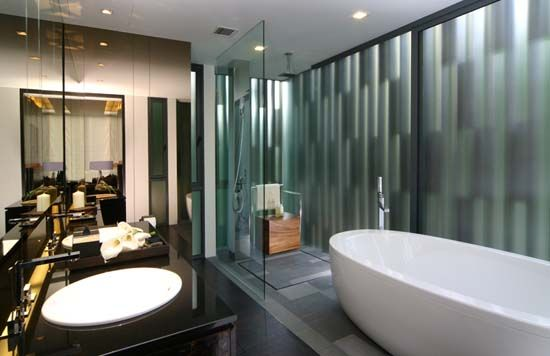 New Design Bathrooms Modern Bathroom Design  Living Space  Pinterest  Modern