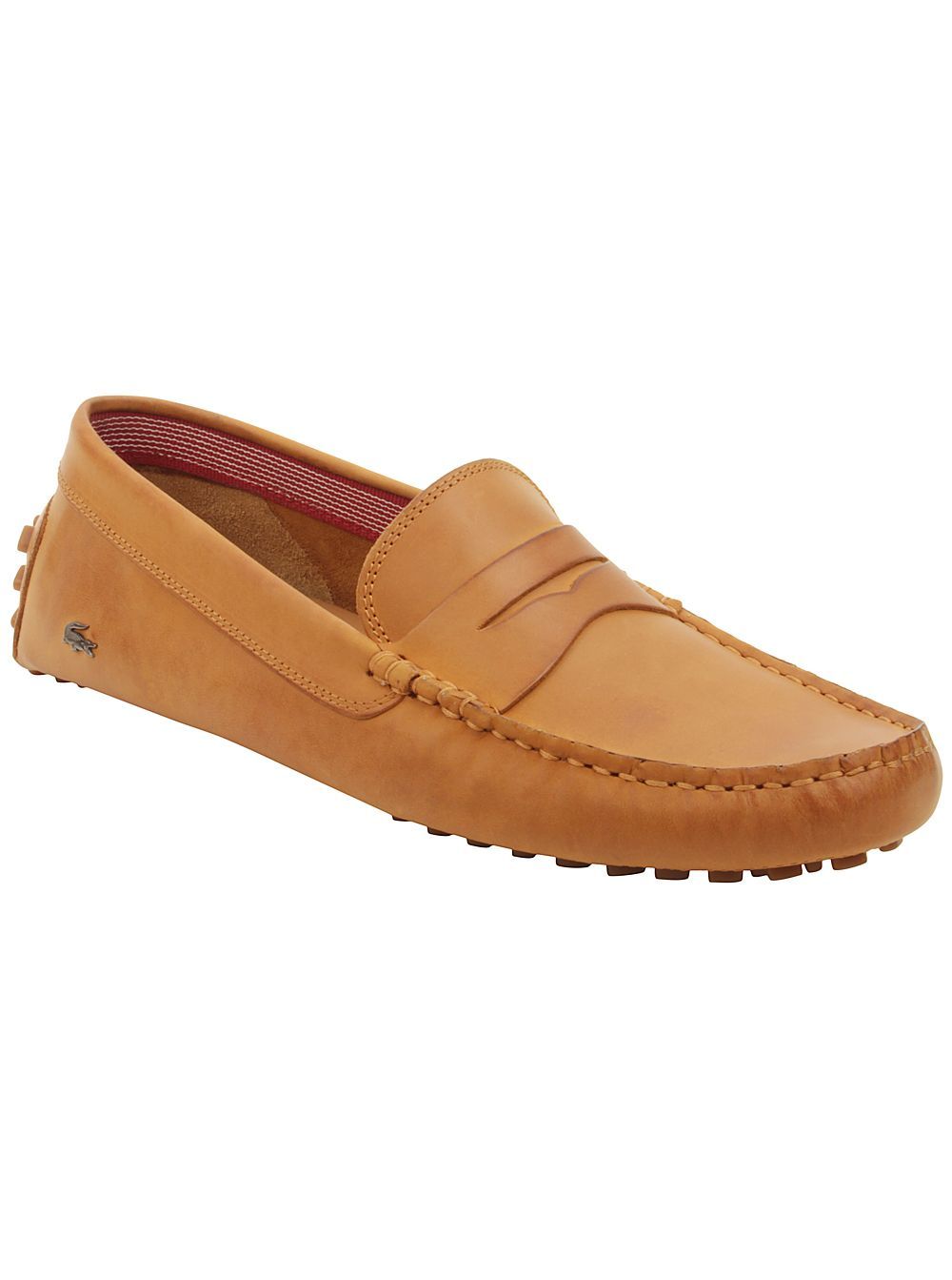 Lacoste Mens Concours 16 Loafers in Tan