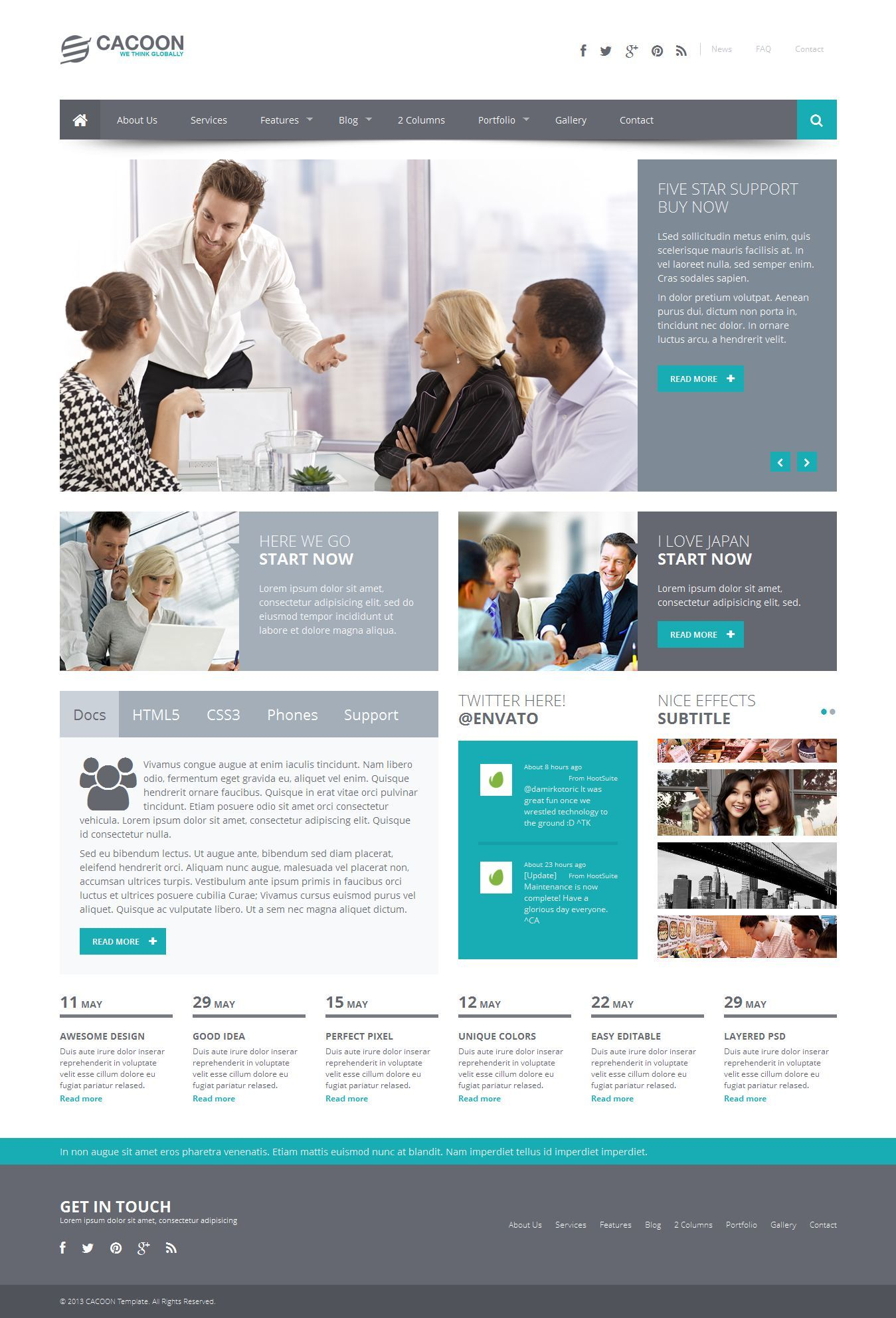 Cacoon responsive business joomla template httpwww cacoon is a responsive joomla business template designed with latest web technologies such as and responsive behavior flashek Image collections