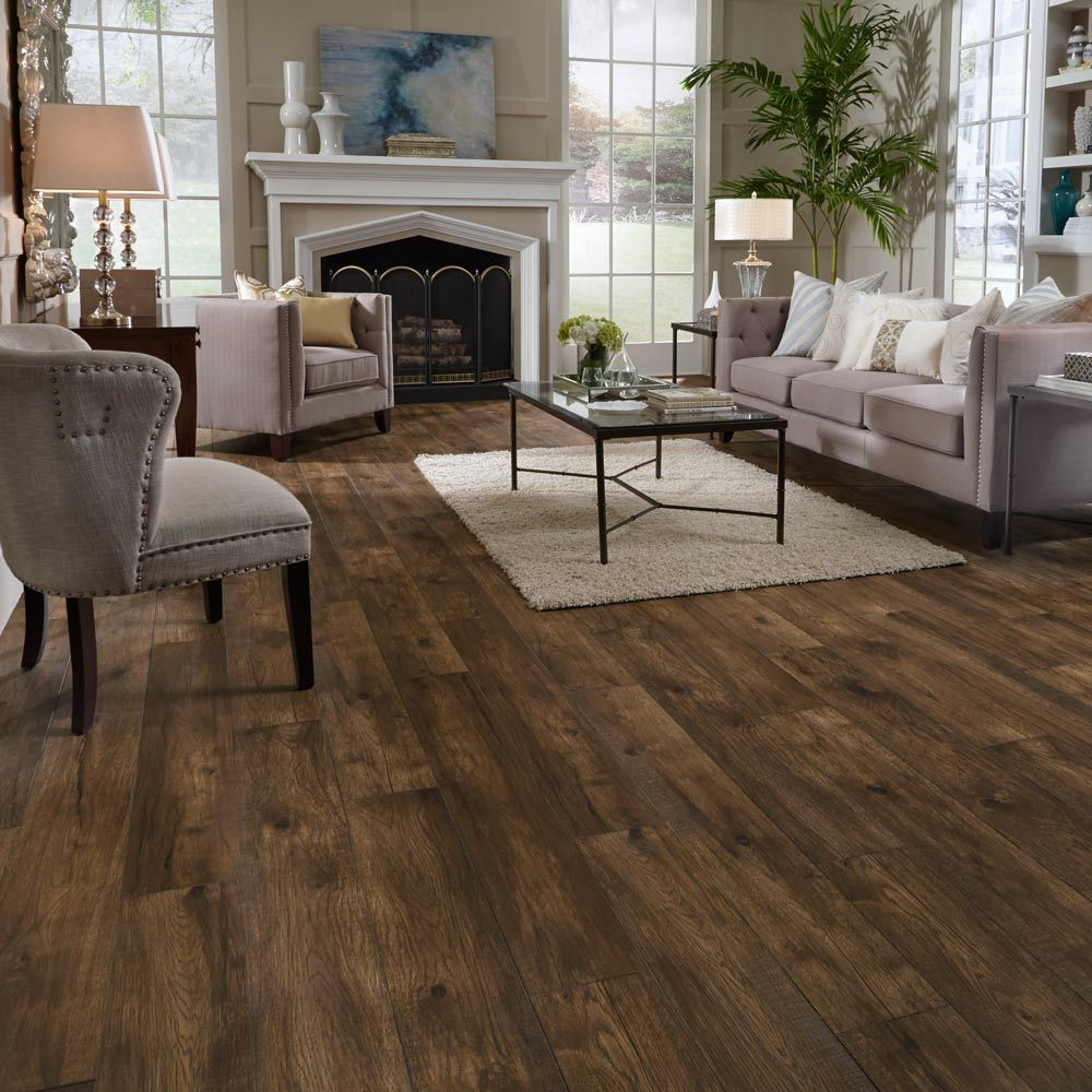 Mannington Residential Hillside Hickory Laminate Flooring Floor Home Wood Plank Options