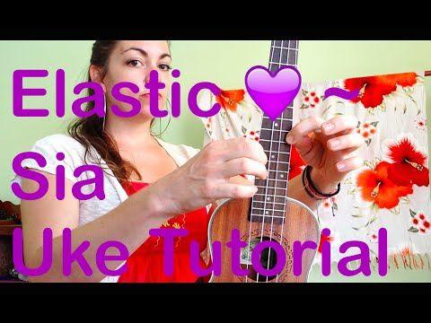 Elastic Heart Ukulele Tutorial Sia - YouTube | uke