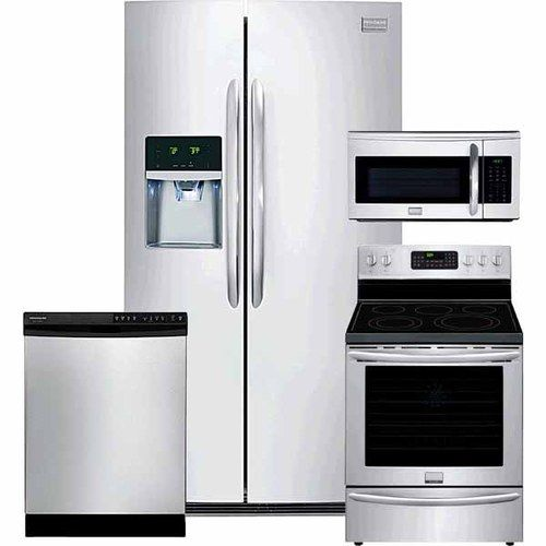 check out this great deal at h h  gregg on frigidaire 4 piece kitchen package check out this great deal at h h  gregg on frigidaire 4 piece      rh   pinterest com