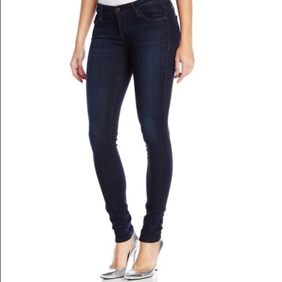 AG The Legging super skinny fit The most comfortable jeans you will ever own! Called leggings but are jeans with pockets and zipper. Amazing fit but are sadly too big for me. Worn just 1-2 times. AG Adriano Goldschmied Jeans Skinny