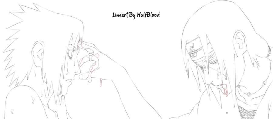 Itachi Vs Sasuke by HulfBlood Itachi, Sasuke, Naruto