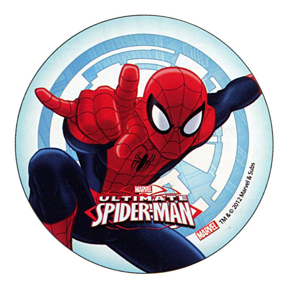 Spiderman Edible Kids Birthday Cake Icing Sheet Topper