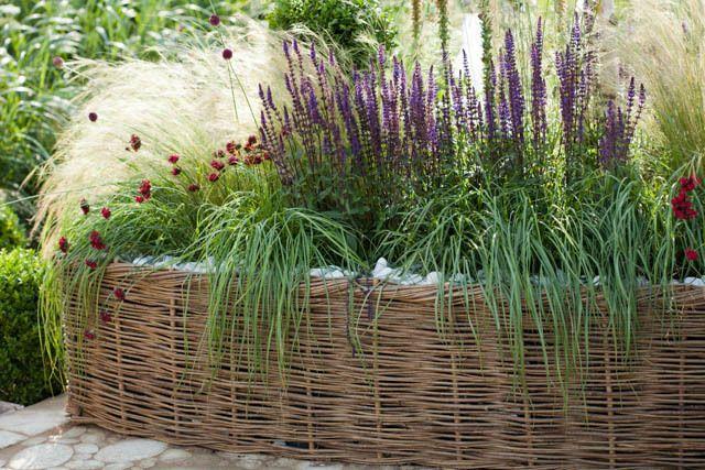 Bon Garden Ideas, Border Ideas, Perennial Planting, Perennial Combination,  Summer Border, Fall