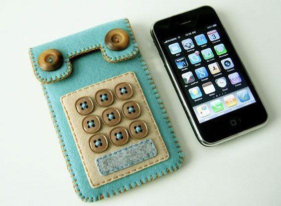 Felt iPhone case