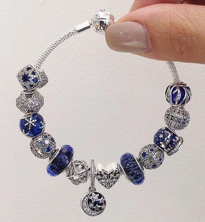 braccialetto pandora con charms