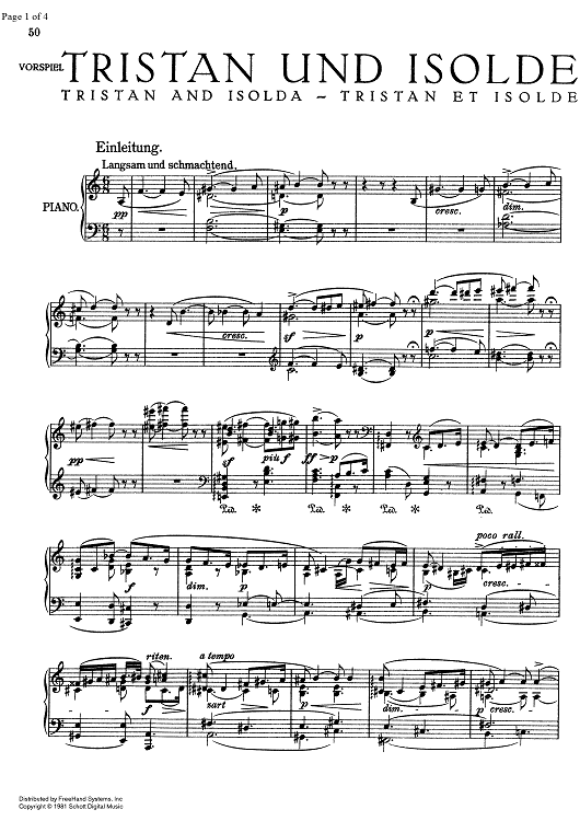 A Dream Is A Wish Your Heart Makes Cello Sheet Music Prelude From Tristan And Isolde Digital Sheet Music Printable Sheet Music Sheet Music