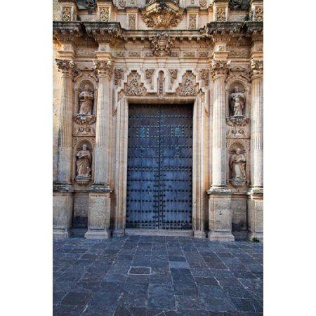 Spain Andalusia Cadiz Arcos De la Fontera Saint Peters Church Canvas Art - Julie Eggers DanitaDelimont (25 x 38)
