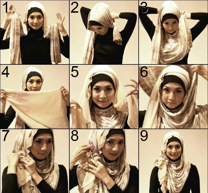 Simple   Hijab   Abbays   Pinterest   Hijab tutorial, Hijab fashion ... cb362229d7ec