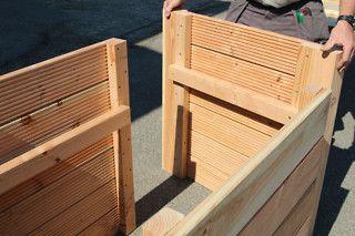 ein hochbeet aus terrassendielen projekte mach mal hochbeet pinterest garden. Black Bedroom Furniture Sets. Home Design Ideas