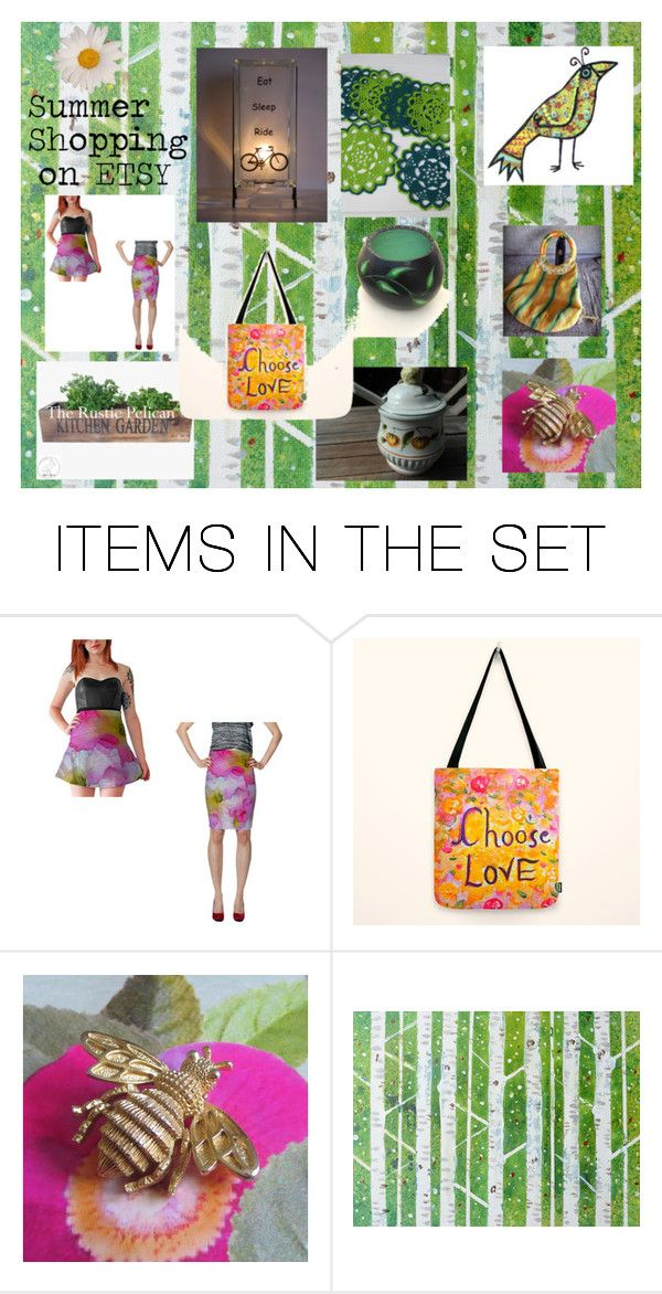 """""""Sunner Specials on Etsy"""" by glowblocks ❤ liked on Polyvore featuring art and rustic"""