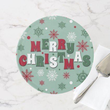 #Merry Christmas Cake Stand - #Xmas #ChristmasEve Christmas Eve #Christmas #merry #xmas #family #kids #gifts #holidays #Santa