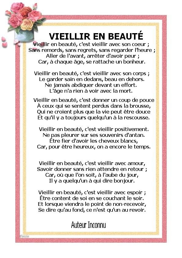Vieillir En Beauté Citations Continuer Pinterest Papa