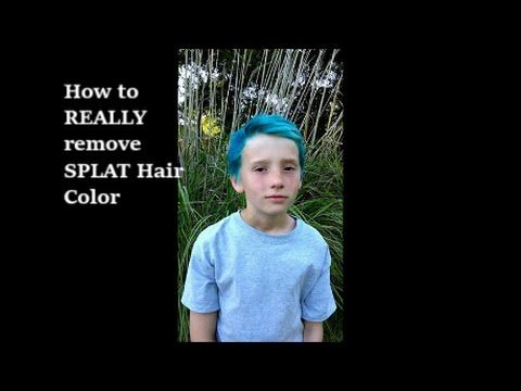 How To Really Remove Splat Hair Color Splat Hair Color Splat Hair Dye Hair Dye Removal