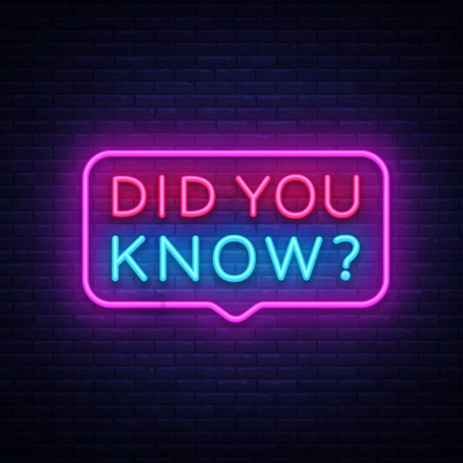 Did You Know Text Led Neon Sign Neon Signs Led Neon Signs Neon