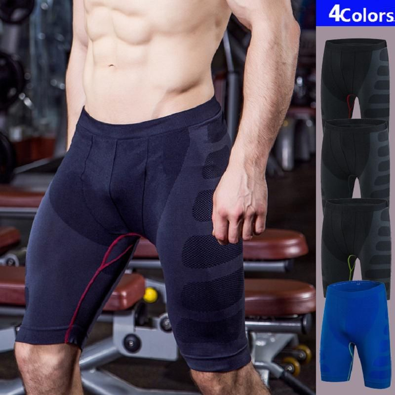 cee952b41b Quick Dry Gym Sport Leggings Crossfit Men's Soccer Undercover Jogging  Summer Men's Running Shorts Tights Quick Dry Compression. Yesterday's  price: US $16.12 ...