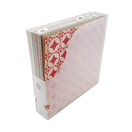 Storage Studios 12 X 12 Paper Holder Scrapbook Paper Storage Paper Storage Craft Storage