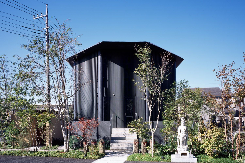 Hasshoden Charnel House In Ryuseiji Temple Mimari Dini Mimari