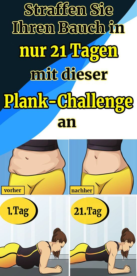 Tighten your stomach in just 21 days with this plank challenge -  Tighten your stomach in just 21 da...