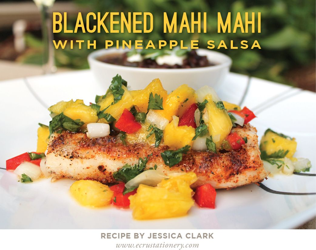 Blackened mahi mahi recipe for Mahi mahi fish recipe