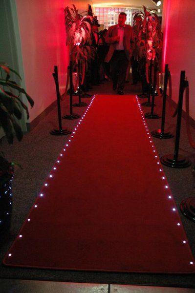Red Carpet Lighting Red Carpet Decorations Carpet Decoration