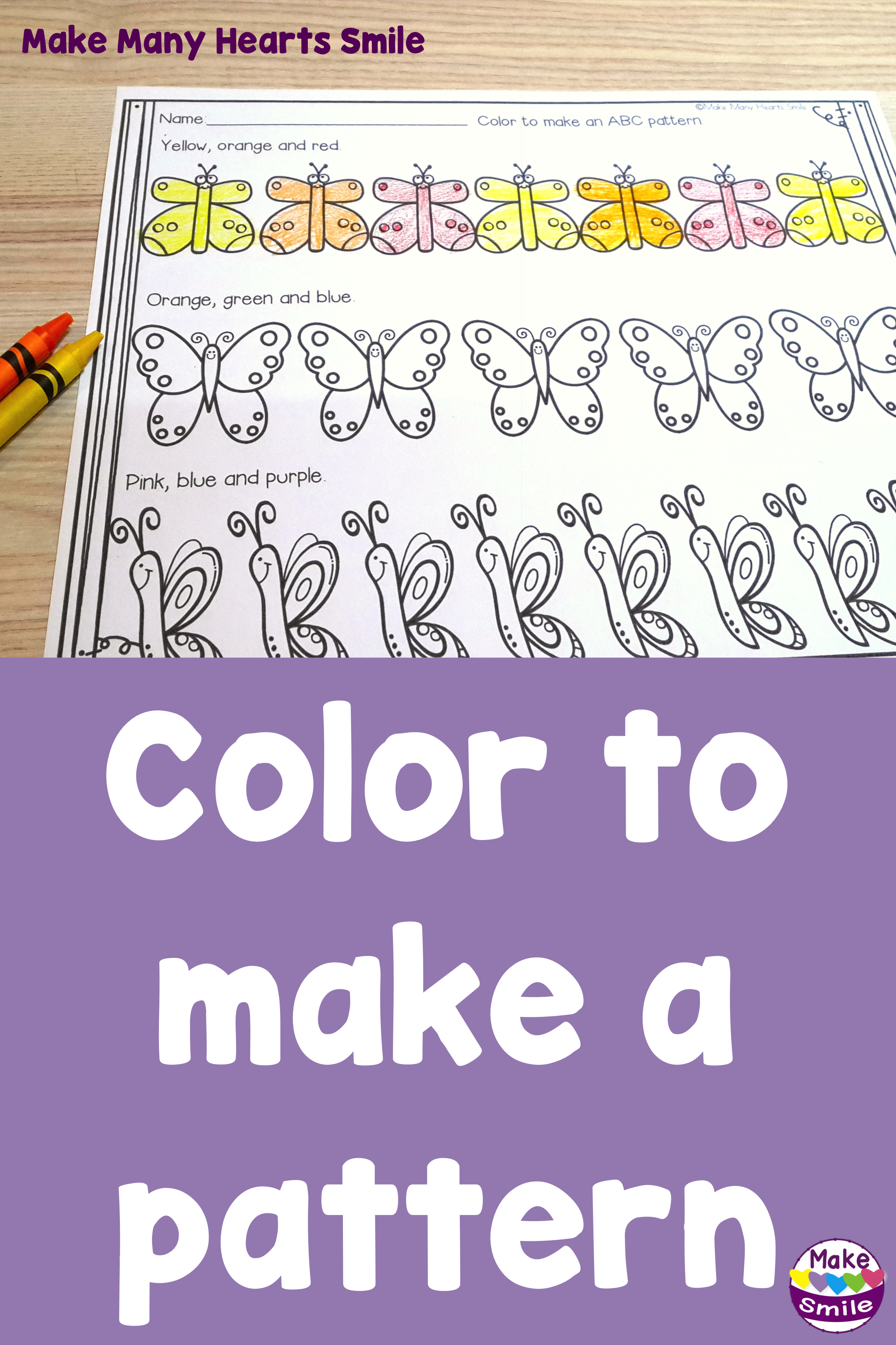 My Kids Had So Much Fun With This Patterns Activity