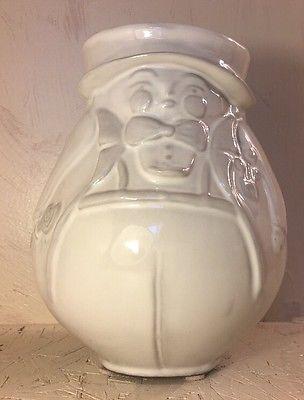 Jonathan Adler White Utopia Reversible Vase Mr Mrs Lady Man 7 Tall Ebay