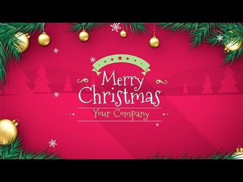 Christmas After Effects Template Christmas Wishes Greetings Merry Christmas Wishes Christmas Holidays