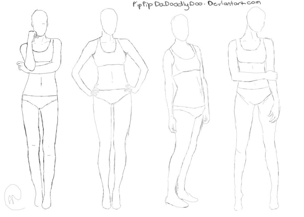 female anatomy drawing reference - Google Search | Anatomie ...