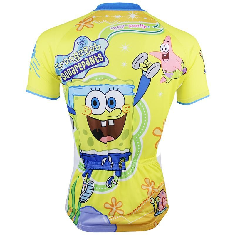 60c7b2cea SpongeBob SquarePants Gary Patrick Star Sandy Cheeks Men s Cycling Jersey  Bike Shirt Sport Wear Cartoon World