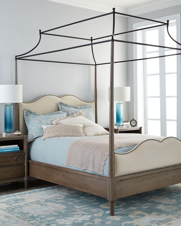 Astounding Bernhardt Adelaide King Canopy Bed Beds Accessories Interior Design Ideas Pimpapslepicentreinfo