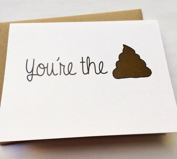 Funny Friend Card - Friend Gift - Best Friend - Thinking of You - thank you note to friend