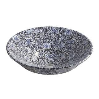 Check out the Kohler K-14223-GB-96 Conical Bell with Garden Bandana Design on Biscuit Background