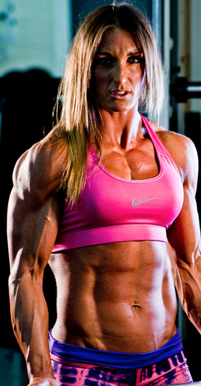 Muscle Girl Flex Workout