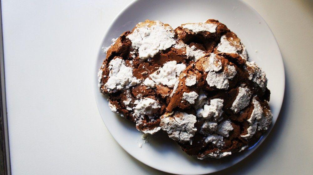 Cookie de Chocolate sem Farinha (flourless)