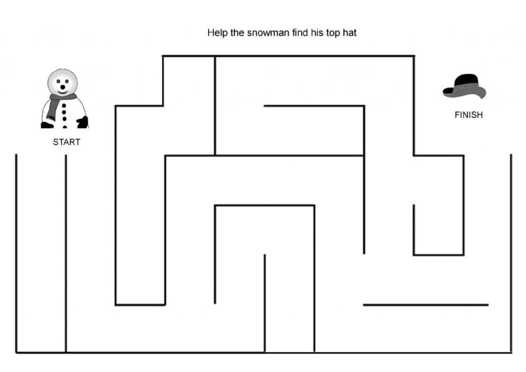 print easy mazes for preschool mazes for kids printable problem solving skills coloring pages