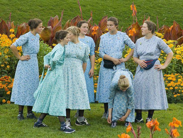 Mennonite Amish Pie Amische Geschlechterrolle