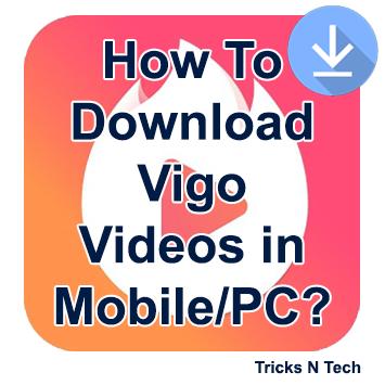 Hello Folks, Are you using Vigo video app? Are you earning