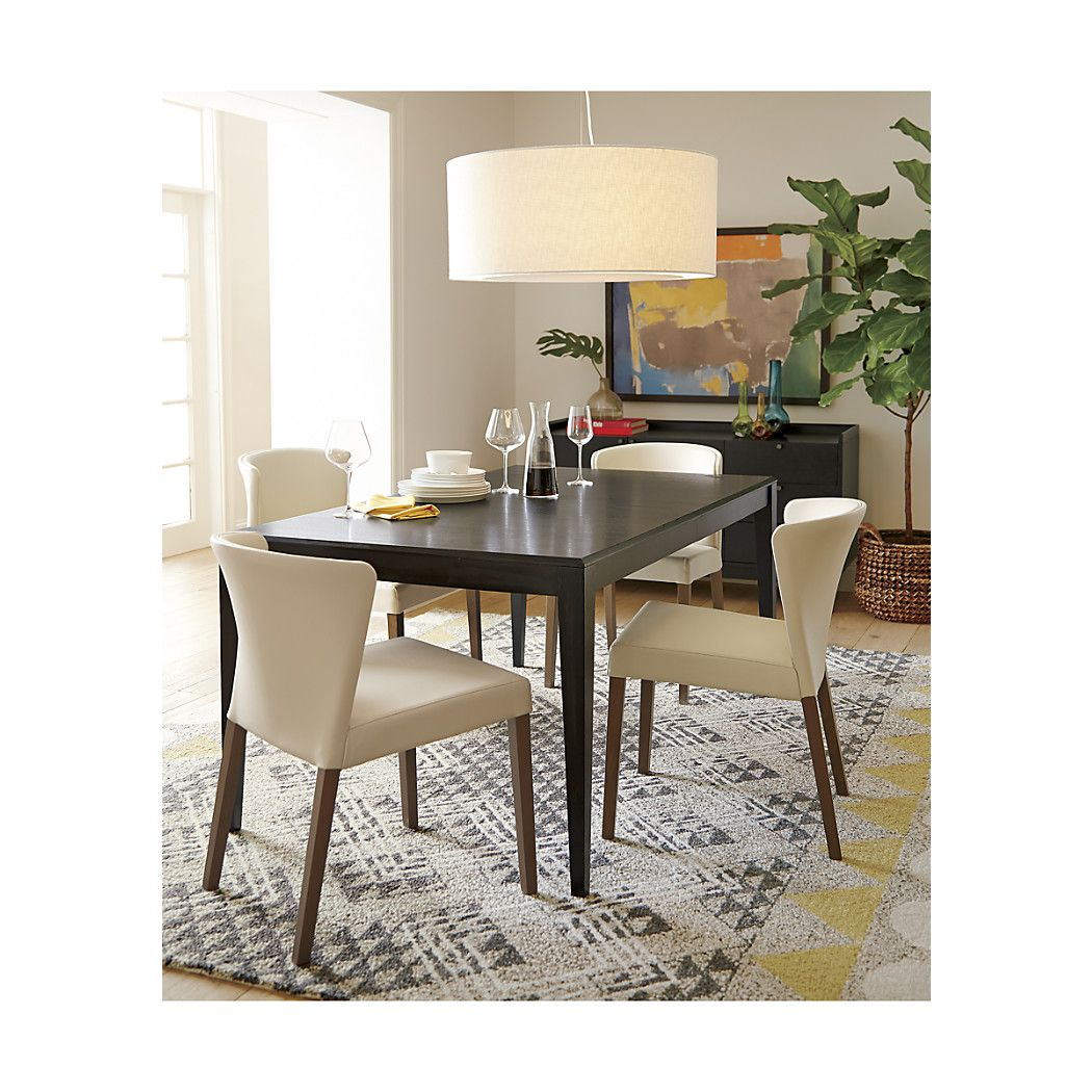 Facet Extension Dining Table from Crate and Barrel Apartment