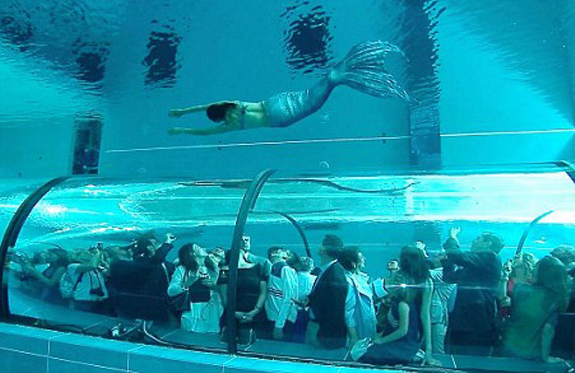 Y40 The Deep Joy la piscina più profonda al mondo